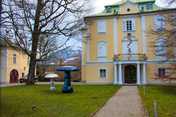 Residencia privada del galerista.
