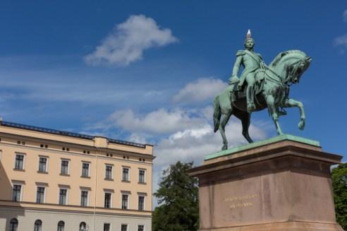 Palacio Real de Oslo.