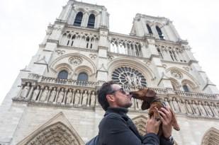 Fachada occidental de Notre-Dame.