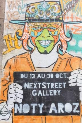 Grafitis Le Marais