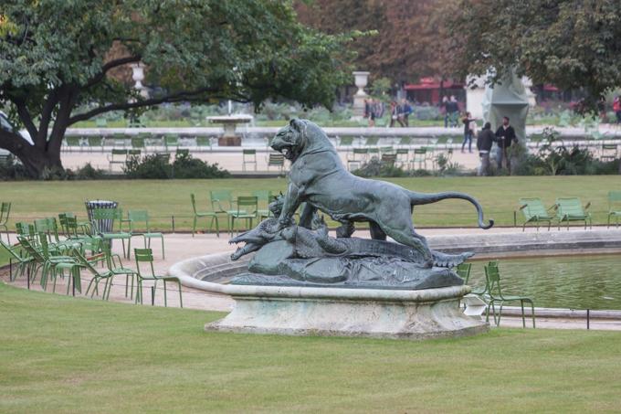 Jardines del Louvre