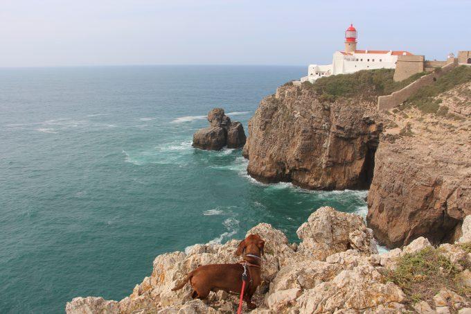 Cabo de San Vicente.