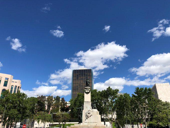 Plaza Gregorio Marañón.