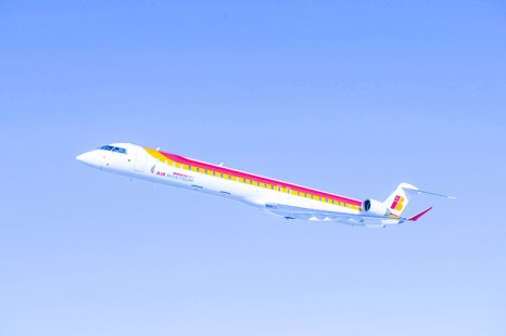 Volando a Marsella con Air Nostrum.
