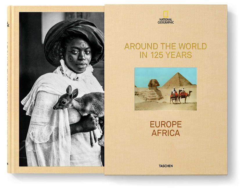 """Despierta tu gen aventurero con """"National Geographic. La vuelta al mundo en 125 años"""" (399 €), es de TASCHEN."""