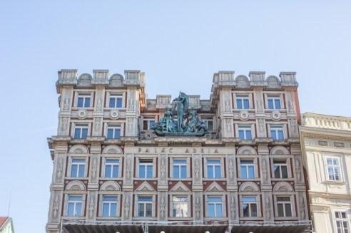 La arquitectura habla de un soberbio pasado.