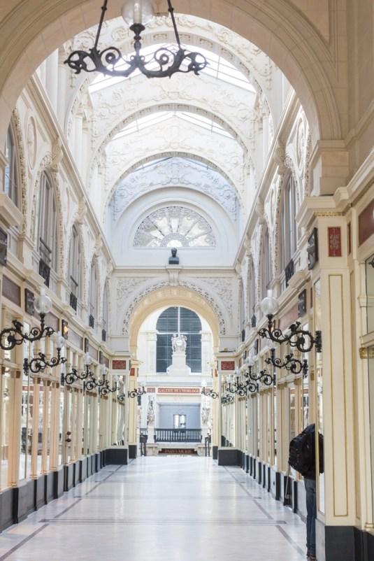 Año 1843, fue cuando terminó de construir esta maravillosa galería.