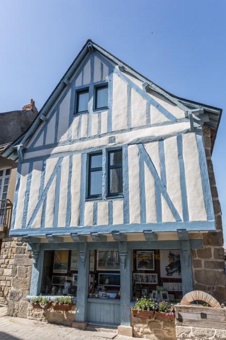 Casa antigua y típica de la Bretaña.