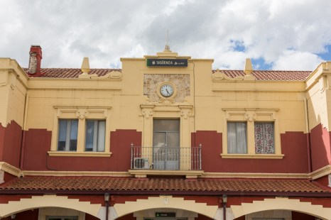 Estación de Sigüenza.