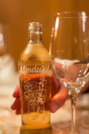 De aperitivo, un Almudler, limonada de hierbas del tirol.