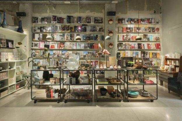 Uno de los rincones del Concept store.