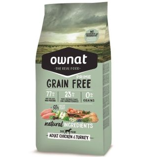 Ownat Gato Grain Free Prime Adult Chicken & Turkey