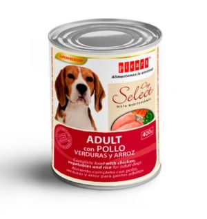 Picart Dog Select Adult Chicken Vegetables & Rice 400g