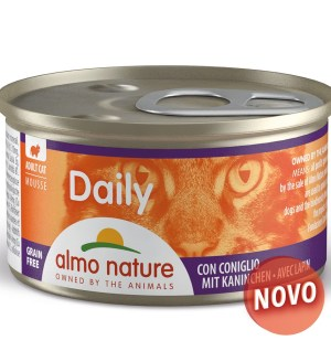 Almo Cat Nature  Daily Mousse Coelho Lata 85 Gr