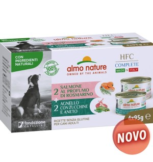 Almo Dog Nature Hfc  Multi Pack Complete 4 x 95 Gr
