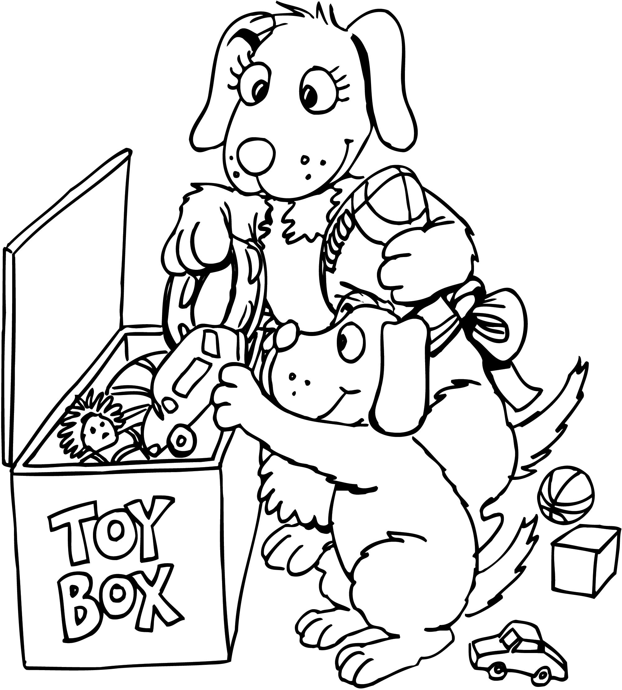 Put Your Toys Away