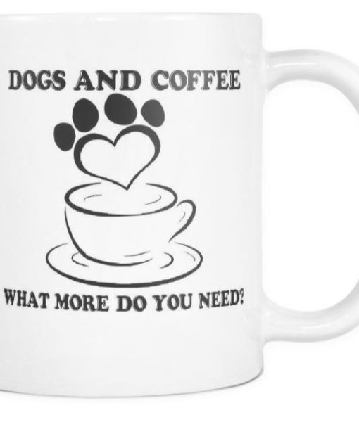 Dogs And Coffee Mug