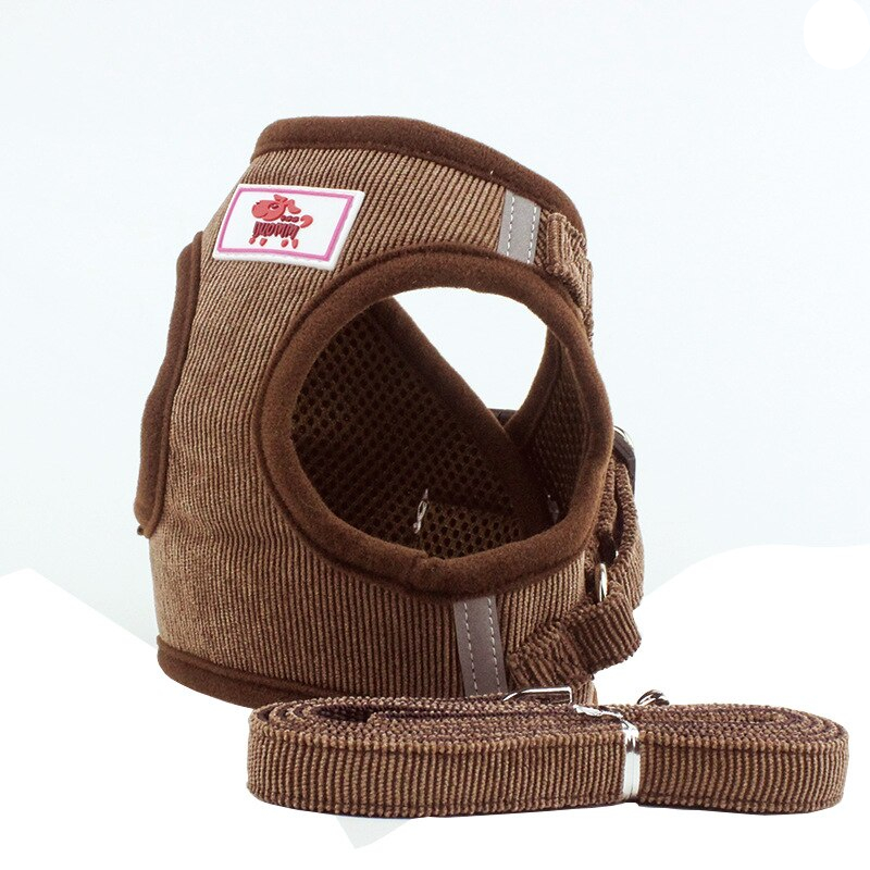 Dogs Soft Breathable Harness with Leash