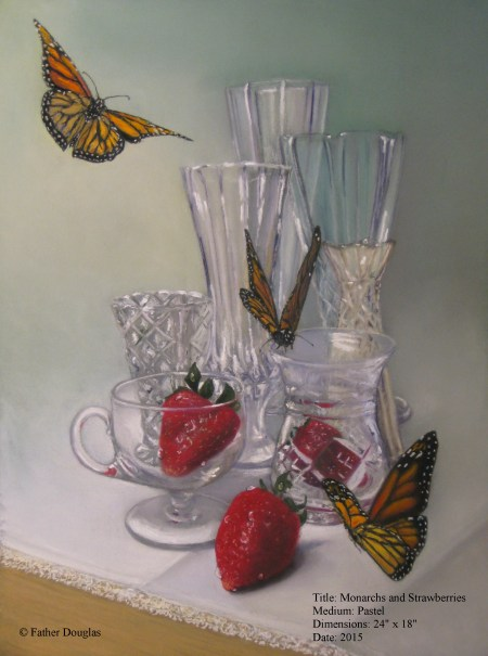 Monarchs and Strawberries