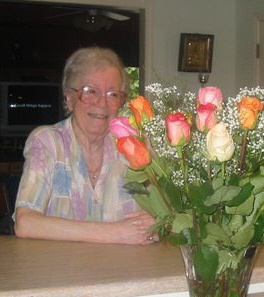 MomwithbirthdayflowersJuly2005b