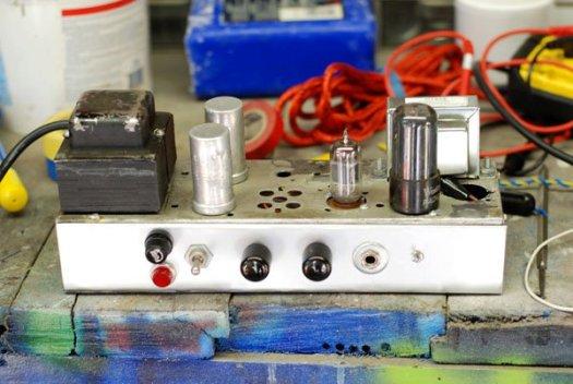 DIY Fender 5F2-A tube amp