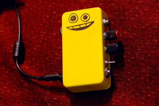 DIY Tiny Giant guitar amplifier
