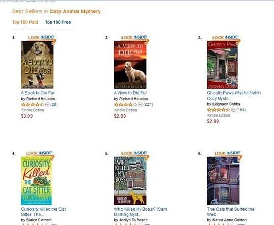Bestselling author Richard Houston does it again!