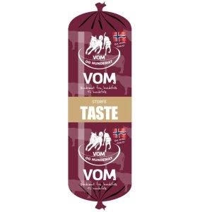 vom-og-hundemat-taste-storfe-korv-500g
