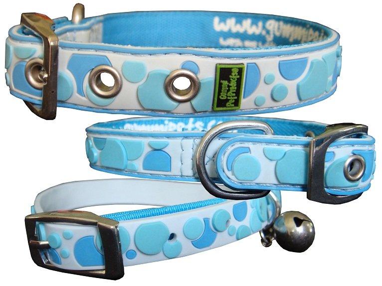 Gummi Collars - Blue Spots
