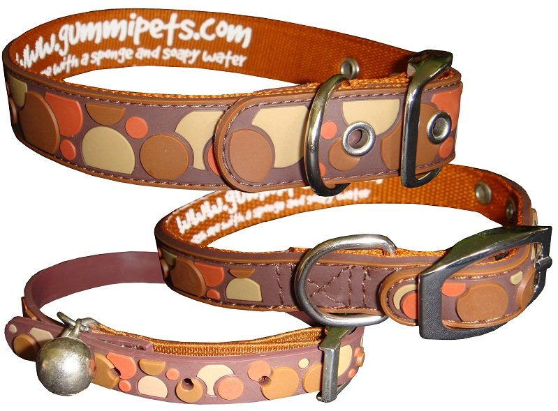 Gummi Collars - Brown Spots