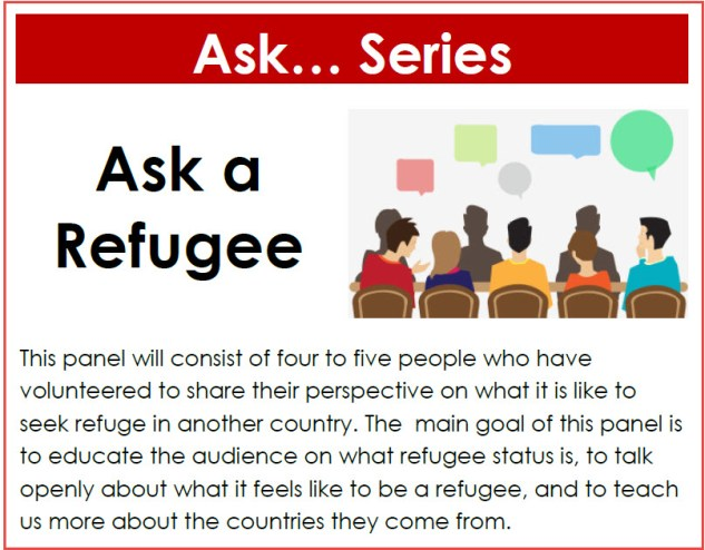 website past event Ask Refugee
