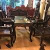 bàn ghế kiểu louis