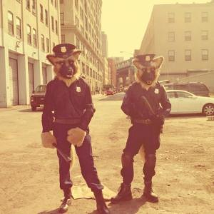 Reminded me of this great music video with fursuits by Komickrazi.