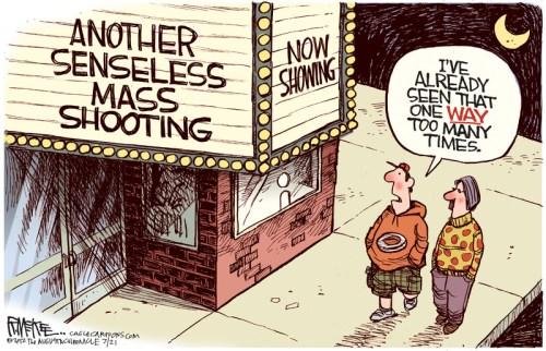 Rick McKee - from news cartoon gallery