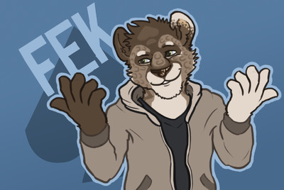 Fek announces becoming a full-time, well-paid professional yiff artist.