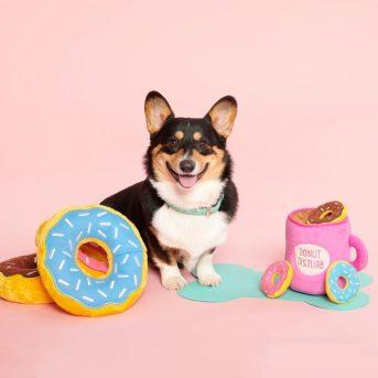 Image result for donut shape dog toy
