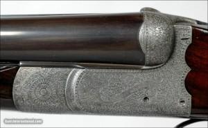 16g Guyot boxlock shotgun