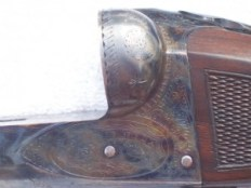Original Fox CE 12g Double Barrel Shotgun - side view