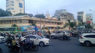 Typical HCMC intersection