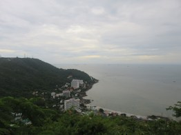 Vung Tau in terrible light and with grey skies