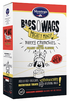 Montego Bags O' Wags Cruchies Peanut Butter