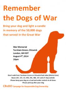 Dogs of War Vigil