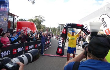 The North Face 100 Australia Dylan Bowman finish