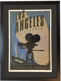 Los Angeles USA Poster