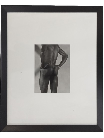 Photograph of a Male Nude