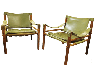 Arne Norell Safari Chairs