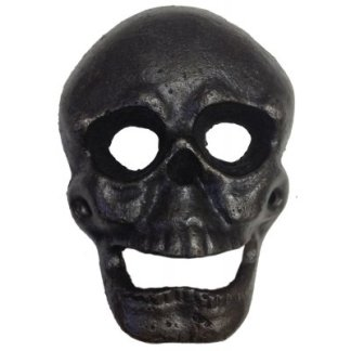 Cast Iron Creepy Skull Opener