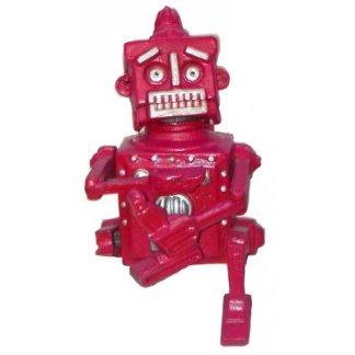 Cast Iron Robot Bank
