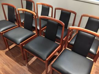 Parker Teak Dining Chairs