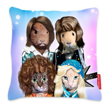 Pets Rock Waterloo Cushion